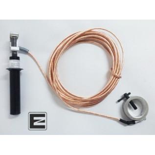 Заземления переносные для пожарных стволов ЗПС-1 25мм - 8м