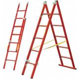 Лестница-стремянка универсальная двухсекционная CCД-У 2х9